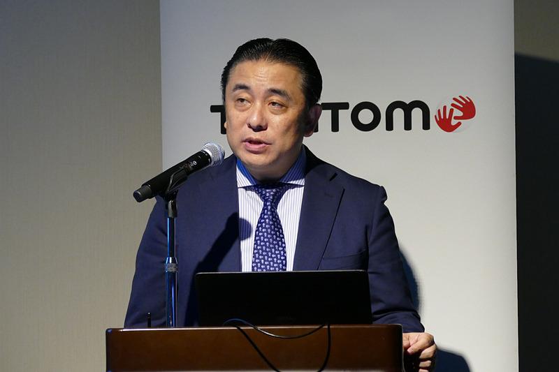 セールスバイスプレジデント兼日本代表の山田茂晴氏