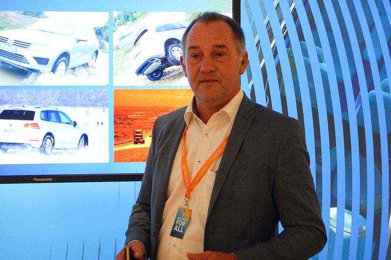 独フォルクスワーゲンでバッテリー開発責任者を務めるMichael Thiel氏