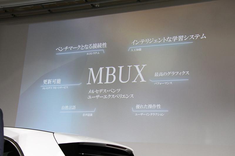 MBUXは今回導入された「A 180」「A 180 Style」ともに標準装備されるが、ナビゲーションはオプション設定のためナビをMBUXで操作したい場合は「ナビゲーションパッケージ」の装着が必須になる