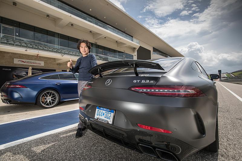 米国 テキサス州オースティンで「メルセデス AMG GT 4ドアクーペ」の国際試乗会が行なわれた