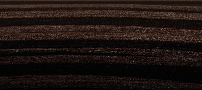 「縞杢(ブラウン)」のオーナメントパネル