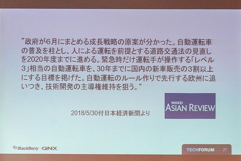 日本政府の方針の報道