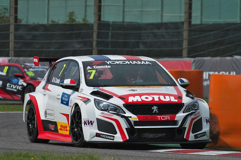 予選2のQ3の3位 7号車 Peugeot 308 TCR