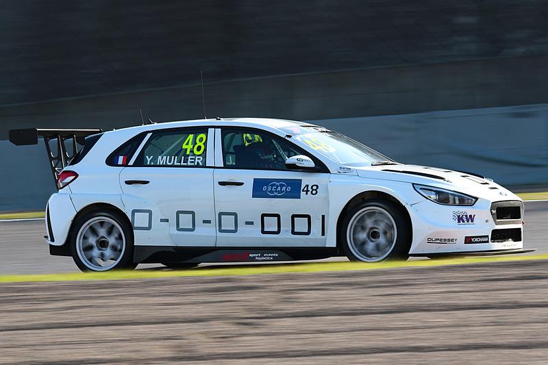 イヴァン・ミューラー選手(48号車 Hyundai i30 N TCR)