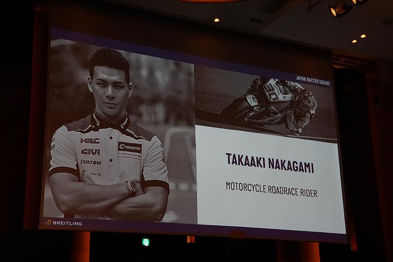 MotoGPに参戦する中上貴晶選手