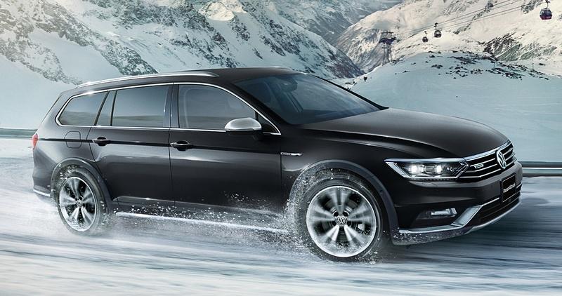 フォルクスワーゲンの新型クロスオーバー4WD「パサート オールトラック」