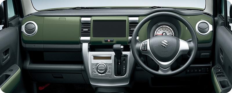 Gターボ/G(CVT車) クールカーキパールメタリック ホワイト2トーンルーフ チャートインパネ