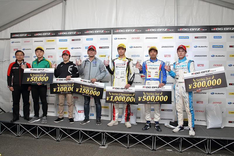 今回のレース結果はわるかったが、年間ランキングは4位という結果に