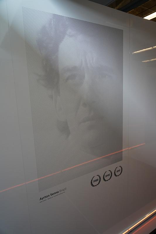 故アイルトン・セナの肖像も