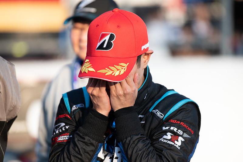 スーパーフォーミュラとSUPER GTのダブルタイトルを獲得した山本尚貴選手