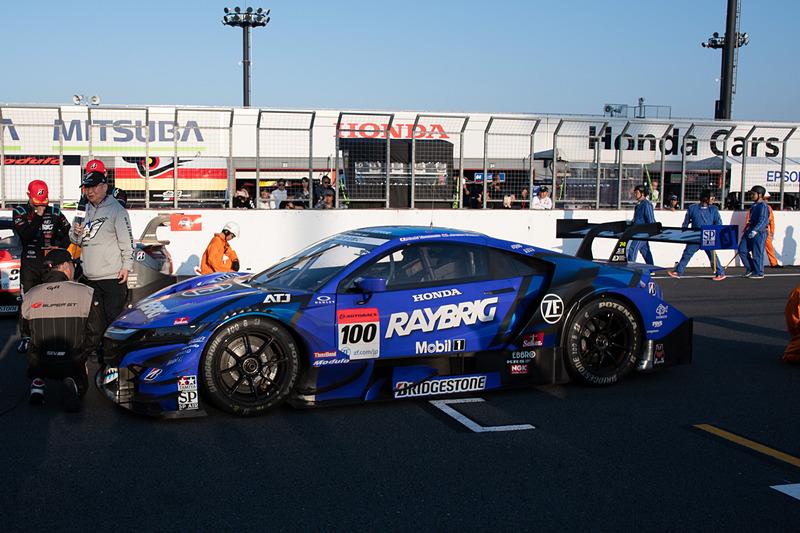 速さと強さを見せつけた100号車 RAYBRIG NSX-GT(山本尚貴/ジェンソン・バトン組、BS)