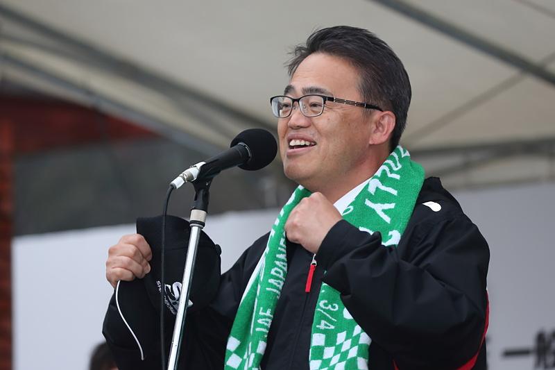 大会名誉会長を務める愛知県知事 大村秀章氏