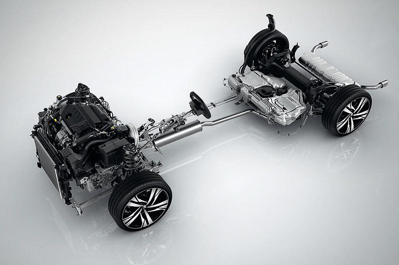 エンジンは180PSを発生する直列4気筒DOHC 1.6リッターターボ、177PSを発生する直列4気筒DOHC 2.0リッターディーゼルターボの2種類