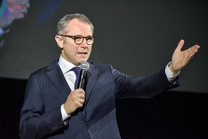 アウトモビリ・ランボルギーニ CEOのステファノ・ドメニカリ氏