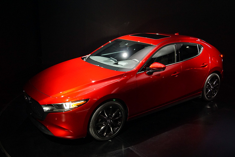 Mazda3のハッチバック