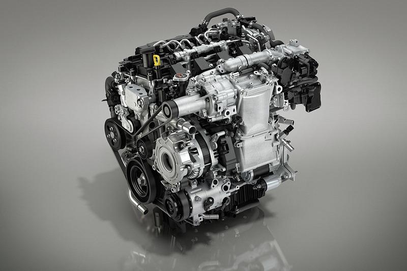 新型Mazda3に搭載される「SKYACTIV-X」