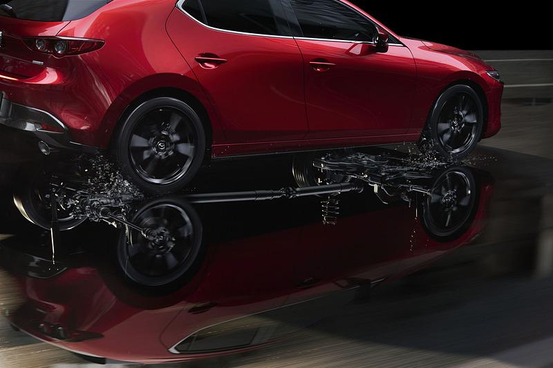 新型Mazda3のAWDイメージ