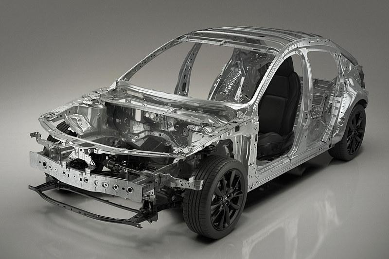 新型Mazda3で採用する新世代車両構造技術「SKYACTIV-VEHICLE ARCHITECTURE」