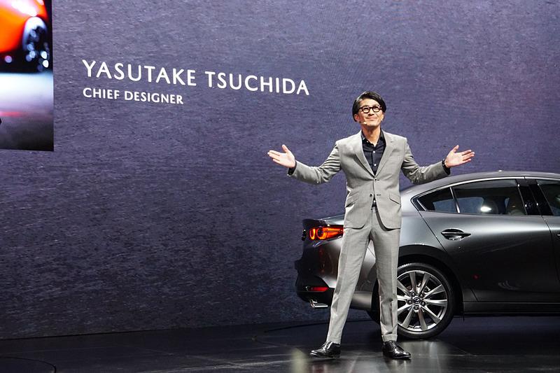 Mazda3 チーフデザイナーの土田康剛氏