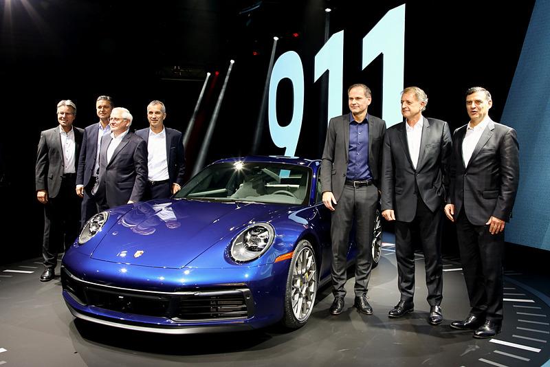プレスカンファレンスで公開された新型「911」