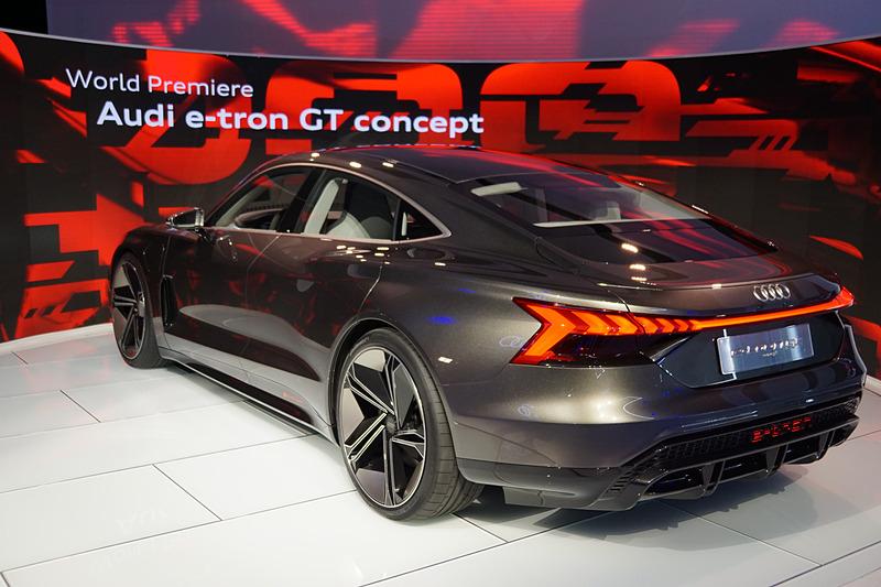「e-tron GT concept」