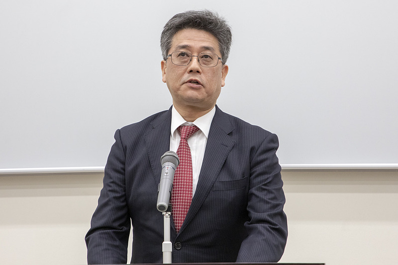 国土交通省 自動車局技術政策課長 江坂行弘氏