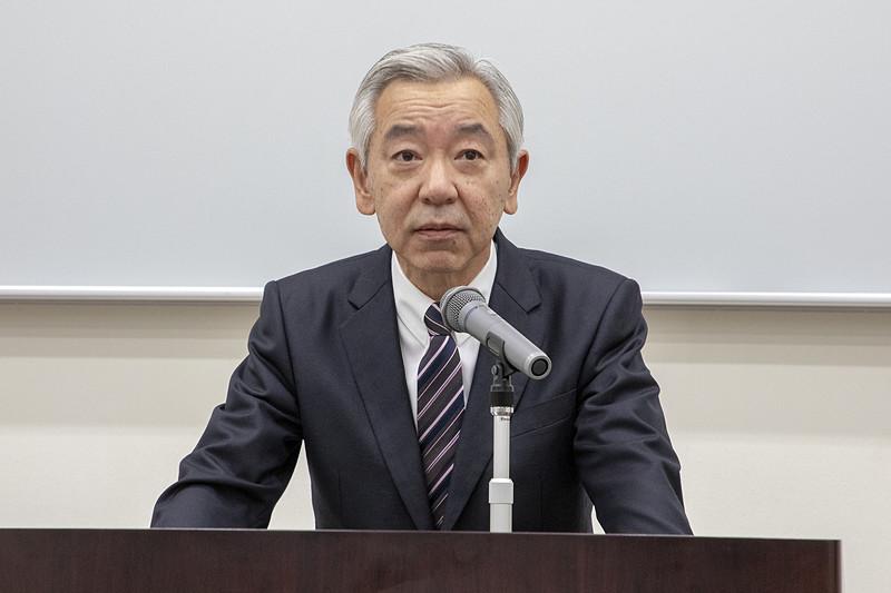 自動車事故対策機構(NASVA)理事長 濱隆司氏
