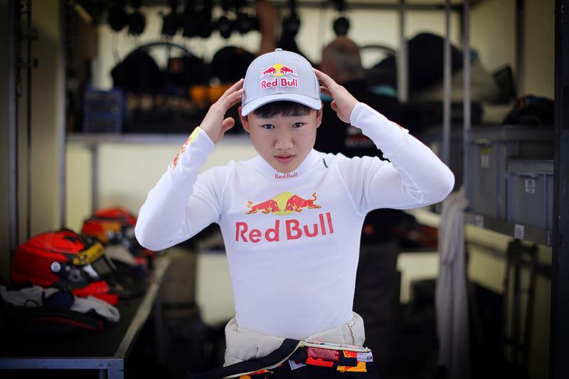 FIA Formula 3選手権に来シーズン参加する角田裕毅選手(写真提供:ホンダ)