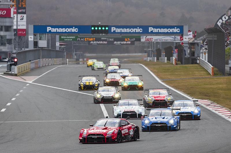 現役レースマシンがデモレースを披露する「NISMO GP」