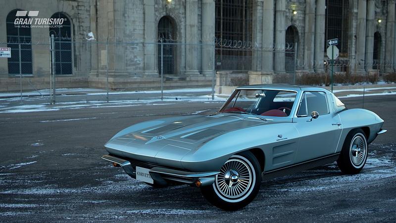 シボレー コルベット Sting Ray Sport Coupe(C2)'63