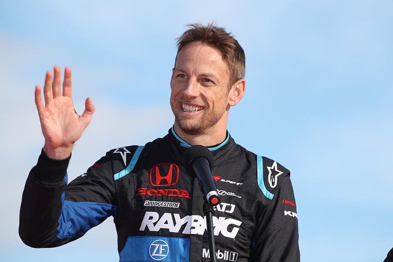 SUPER GTのチャンピオン、ジェンソン・バトン選手