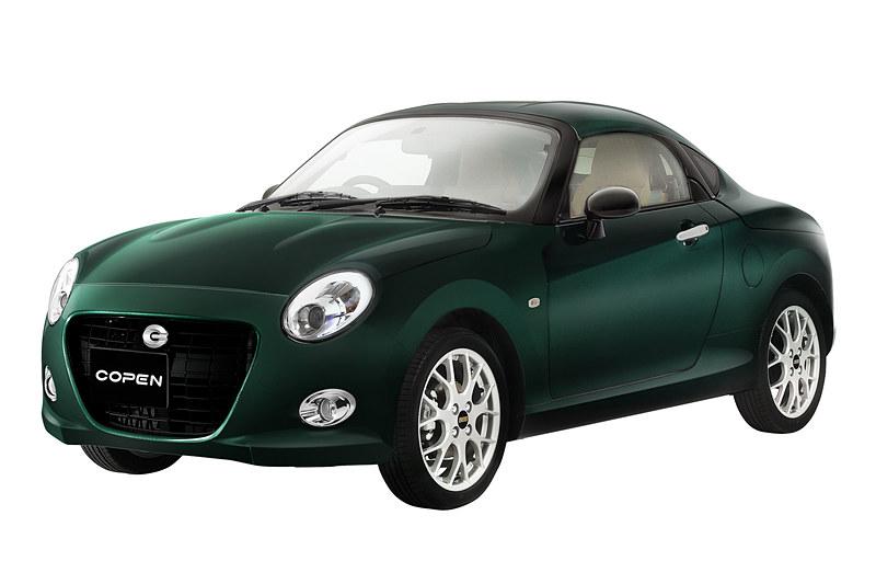 200台限定の軽スポーツカー「コペン クーペ」