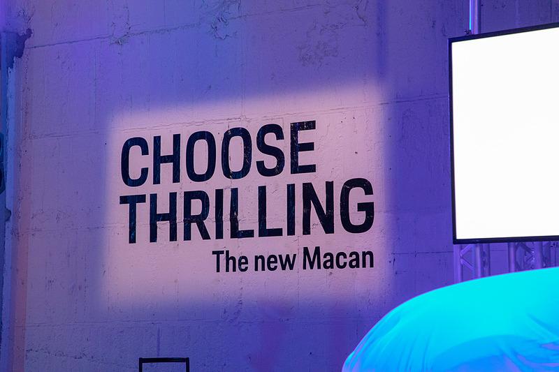 新型マカンのキャッチコピーは「CHOOSE THRILLING」