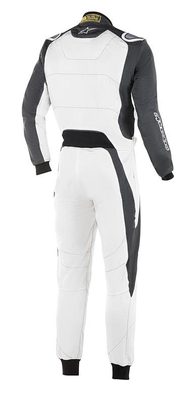 「GP RACE SUIT」の追加カラーである「204 WHITE ANTHRACITE」