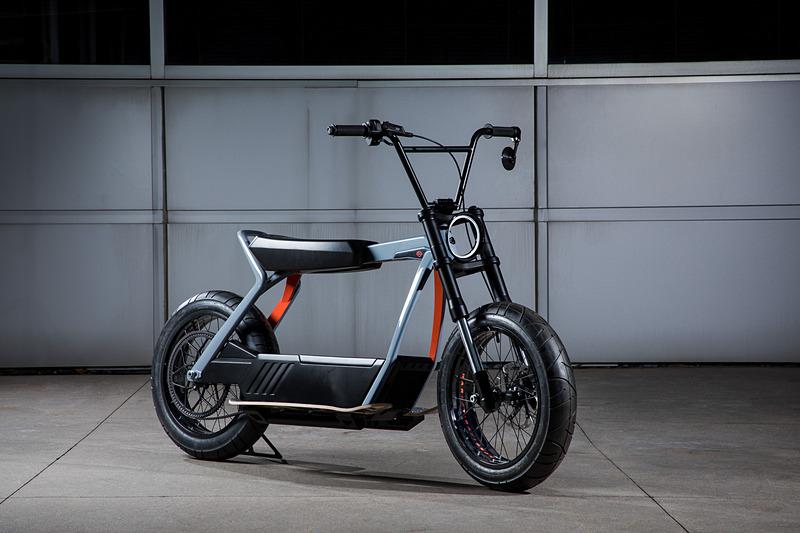 軽量電動モーターサイクルのコンセプトモデル