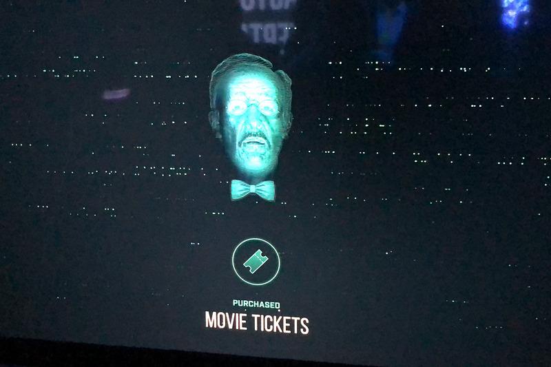 映画の予告編再生時にはチケットの購入も可能
