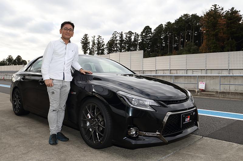 """モータージャーナリストの橋本洋平氏が2代目マークX""""GRMN""""をテスト"""