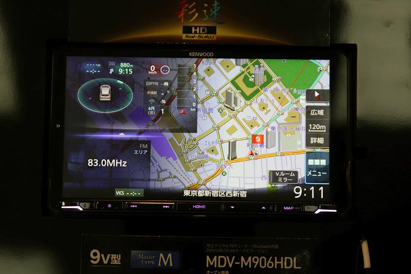 9V型となる「MDV-M906HDL」