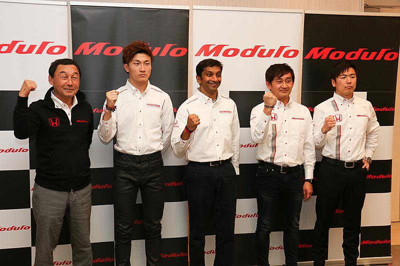 「東京オートサロン 2019」の会場でホンダアクセスのSUPER GT参戦体制発表会が行なわれた