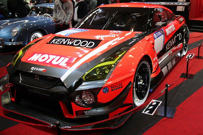「ADVAN A005」を装着したKONDO RACINGの「NISSAN GT-R NISMO GT3」