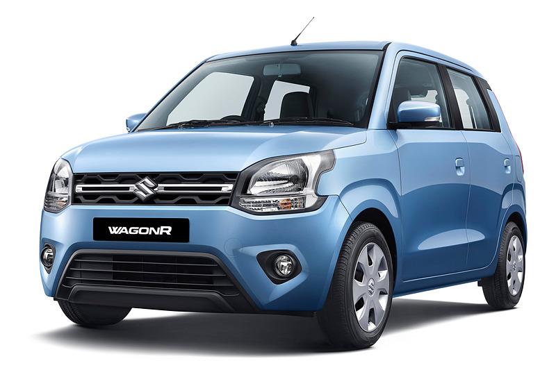インド市場で発売された新型小型乗用車「ワゴンR」