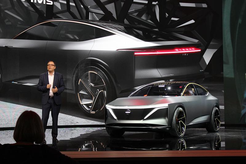 日産自動車はデトロイトショー 2019でEV(電気自動車)のコンセプトカー「Nissan IMs」を世界初公開