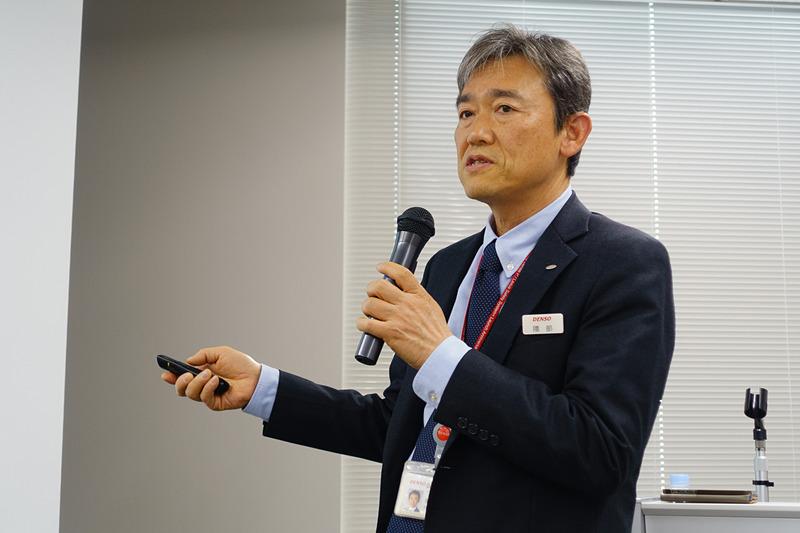 株式会社デンソー 常務役員 隈部肇氏