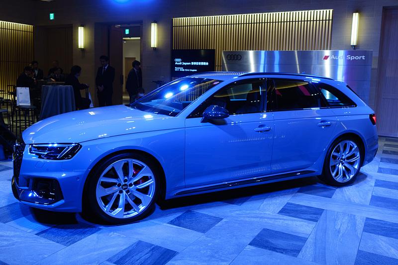 Audi Sportが開発を手がけたハイパフォーマンスモデル「RS 4 アバント」