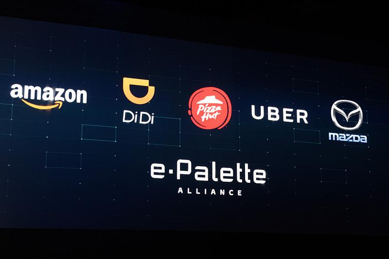 自動運転を行なう「eパレット」という箱に注目が集まりがちだが、大切なのはそれらが生み出すデータとサービス。eパレット アライアンスはMSPFを利用し、新たなモビリティ社会を生み出していく