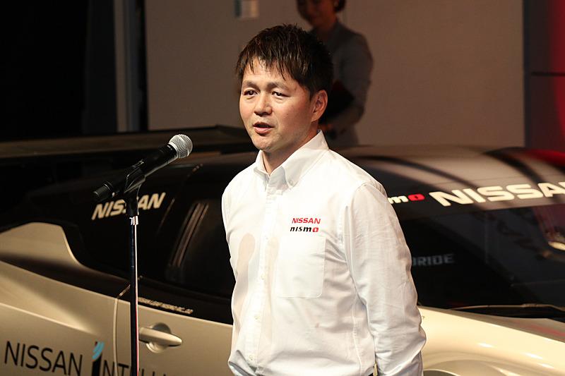 力のある日本人ドライバーの発掘やサポートをしていきたいとコメントする本山選手