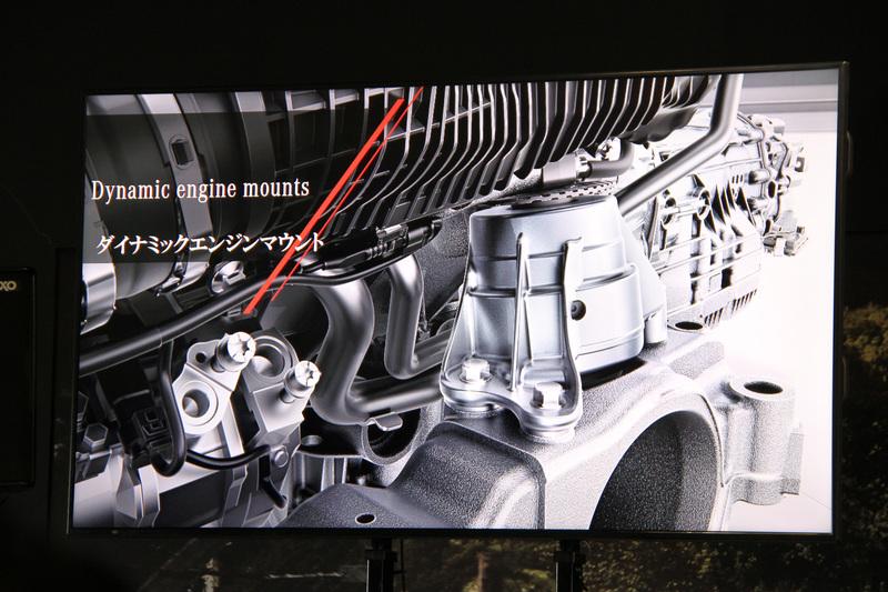 メルセデスAMG GT 4ドアクーペで採用される技術
