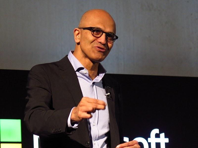 マイクロソフト CEO サティア・ナデラ氏