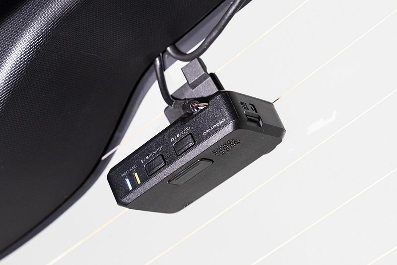 リア用のドライブレコーダー「DRV-R530」