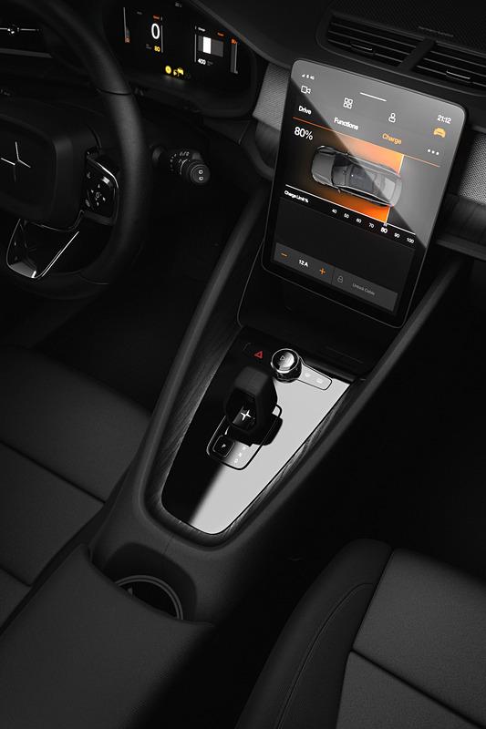 ポールスター 2は「Androidを搭載したインフォテインメントシステム」を世界初搭載